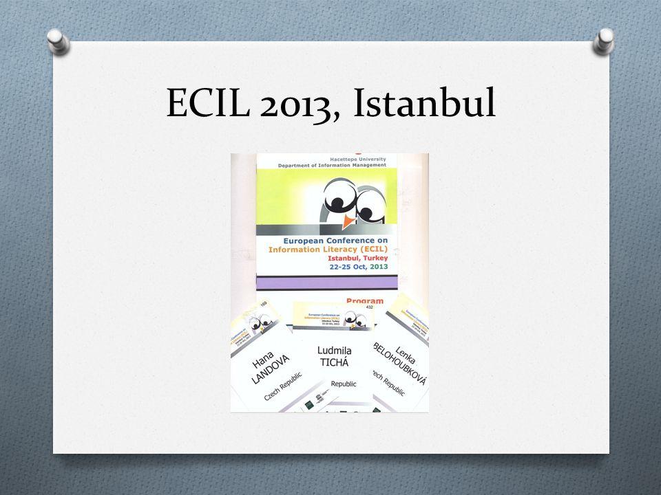 ECIL 2013, Istanbul