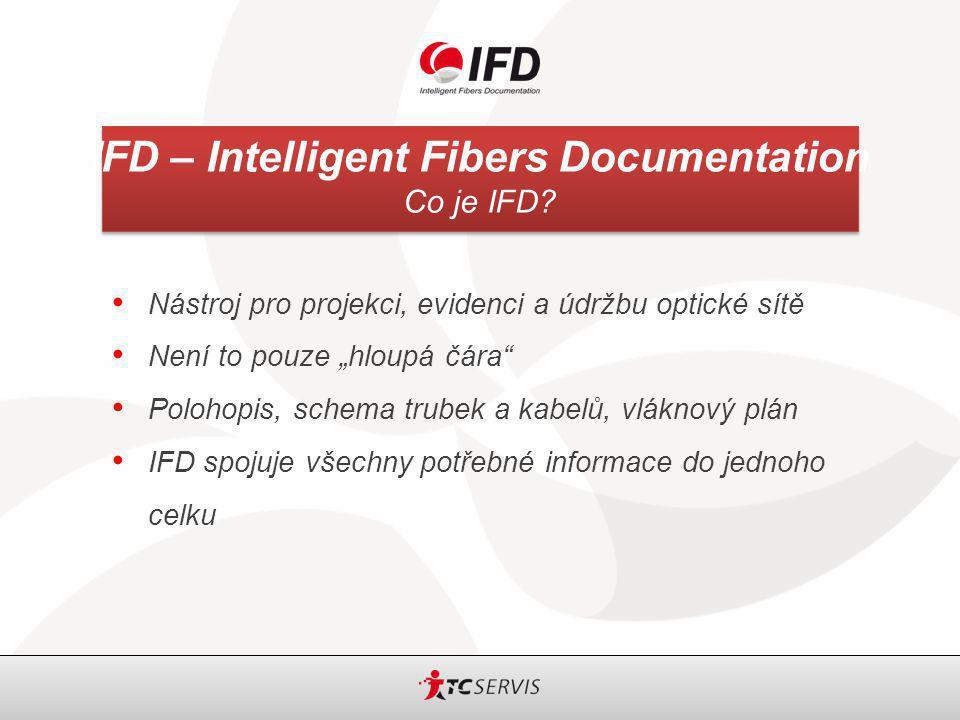 IFD – Intelligent Fibers Documentation OSP – konfigurace optických vláken