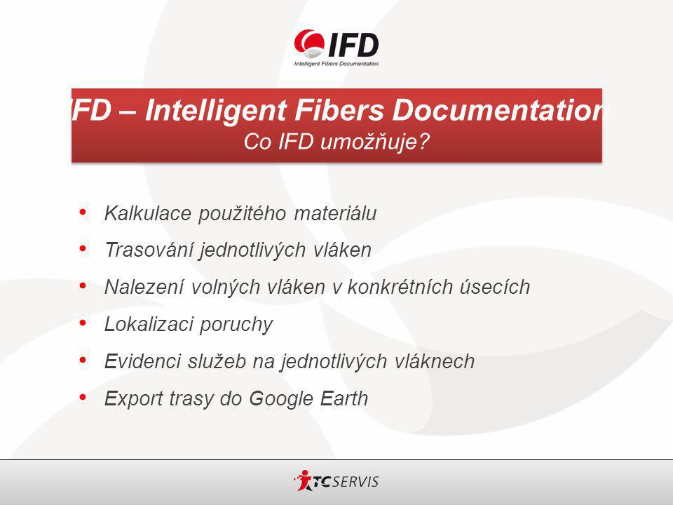 IFD – Intelligent Fibers Documentation Co IFD umožňuje.