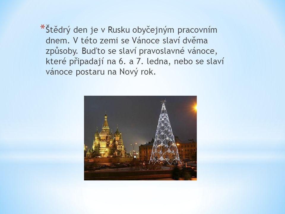 * Příprava na vánoční svátky začíná pro pravoslavné věřící již 28.