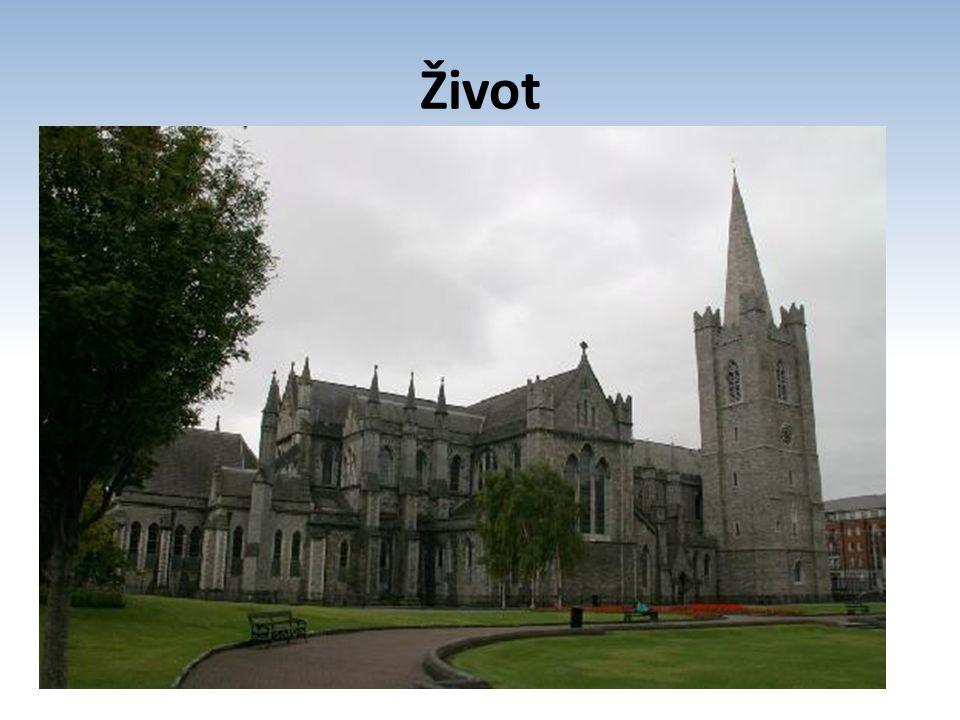 Život narozen: 30. listopadu 1667 1688 vysvěcen na kněze 1702 titul doktora teologie 1713 jmenován děkanem katedrály sv. Patrika v Dublinu vleklá chor