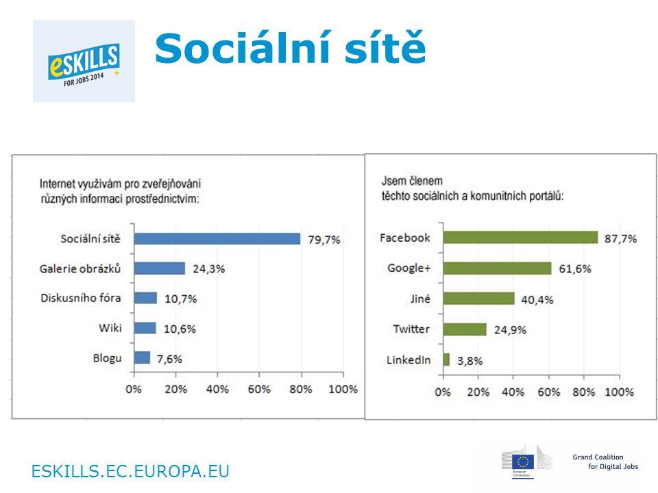 ESKILLS.EC.EUROPA.EU Sociální sítě