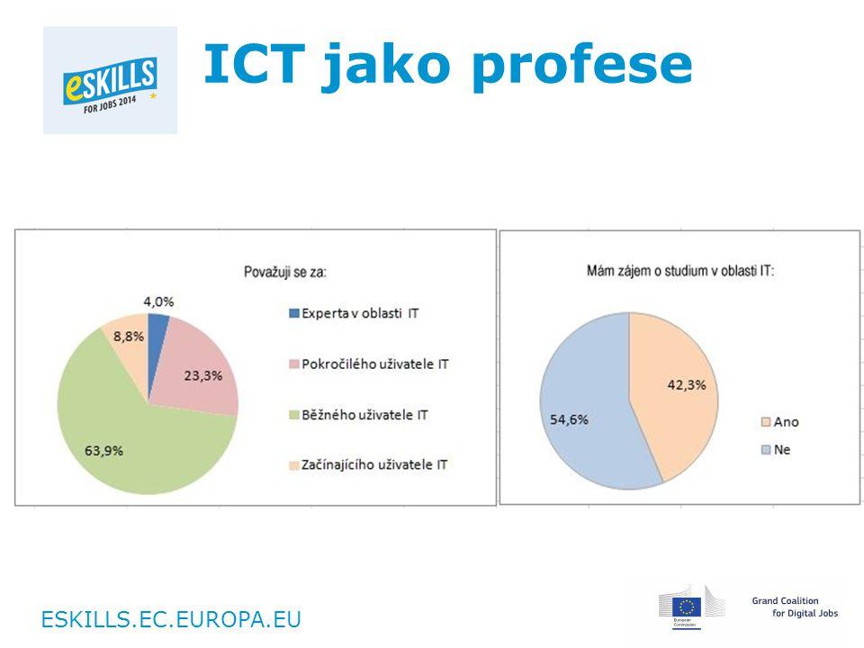 ESKILLS.EC.EUROPA.EU ICT jako profese