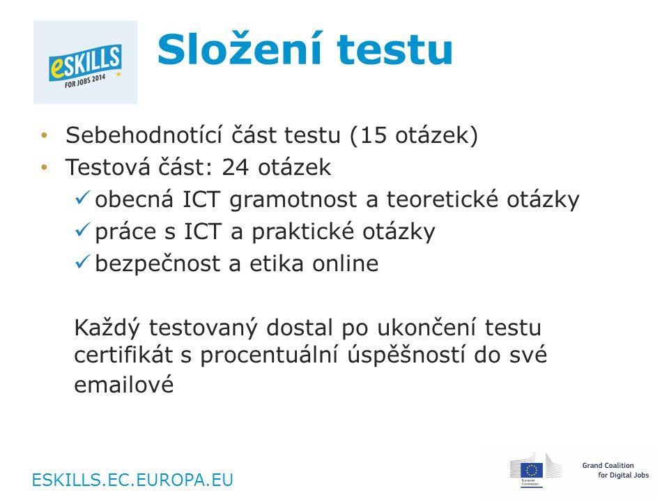 ESKILLS.EC.EUROPA.EU Statistiky