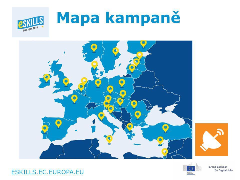 ESKILLS.EC.EUROPA.EU Mapa kampaně