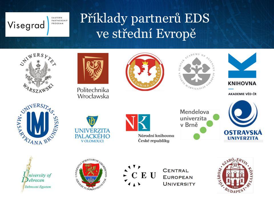 Příklady partnerů EDS ve střední Evropě