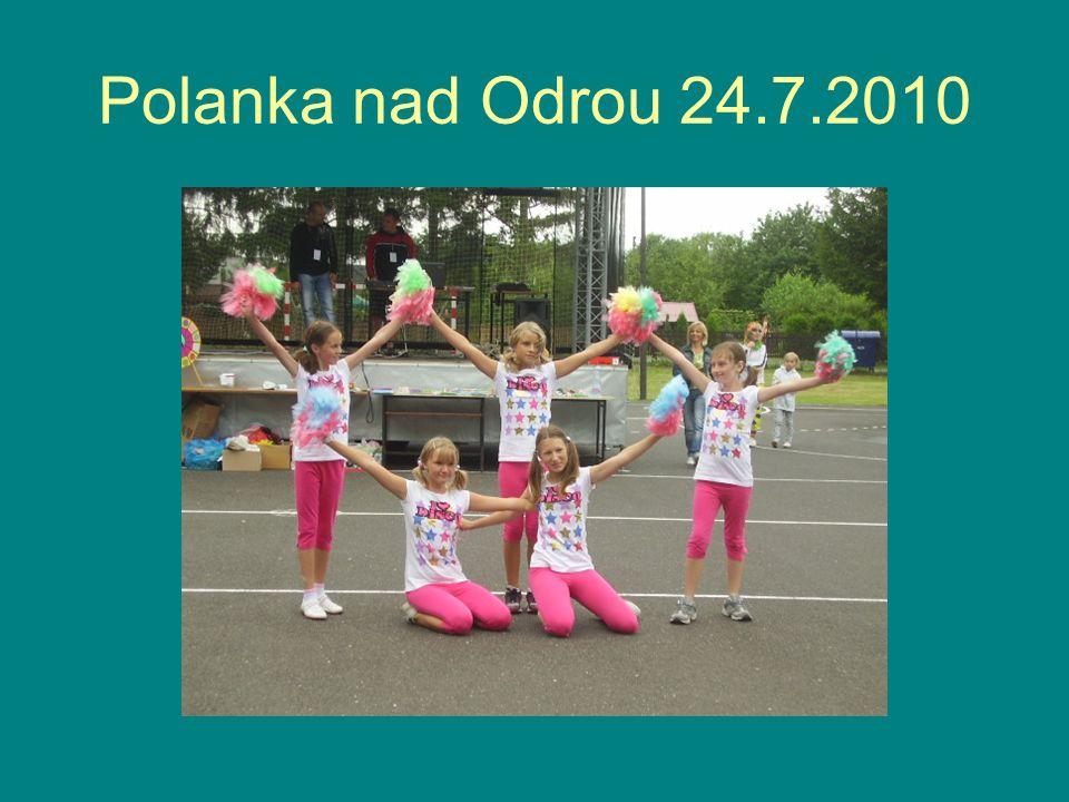 Takto jim to v Polance tančilo HankaZuzka Sára Petříčková SoukupováPěřichová Aneta ŠomkováAneta Zdražilová