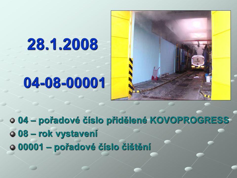 Představenstvo CACS informuje… III První jednotný Evropský atest o vyčištění vystavený na čistící stanici KOVOPROGRESS, spol. s r.o., Střelice u Brna