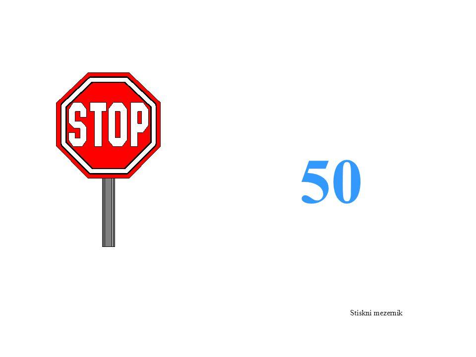 50 Stiskni mezerník