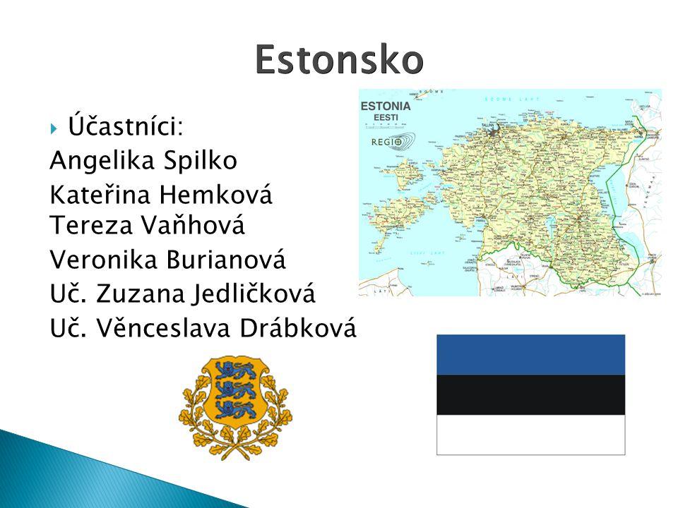  Účastníci: Angelika Spilko Kateřina Hemková Tereza Vaňhová Veronika Burianová Uč.