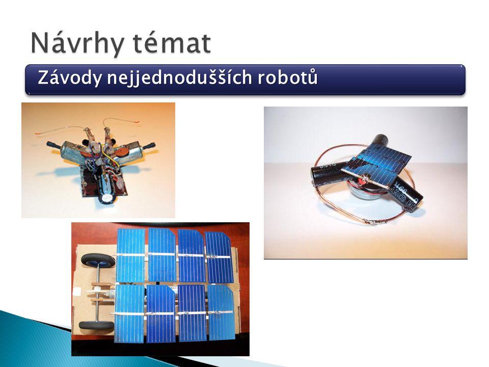 Závody nejjednodušších robotů