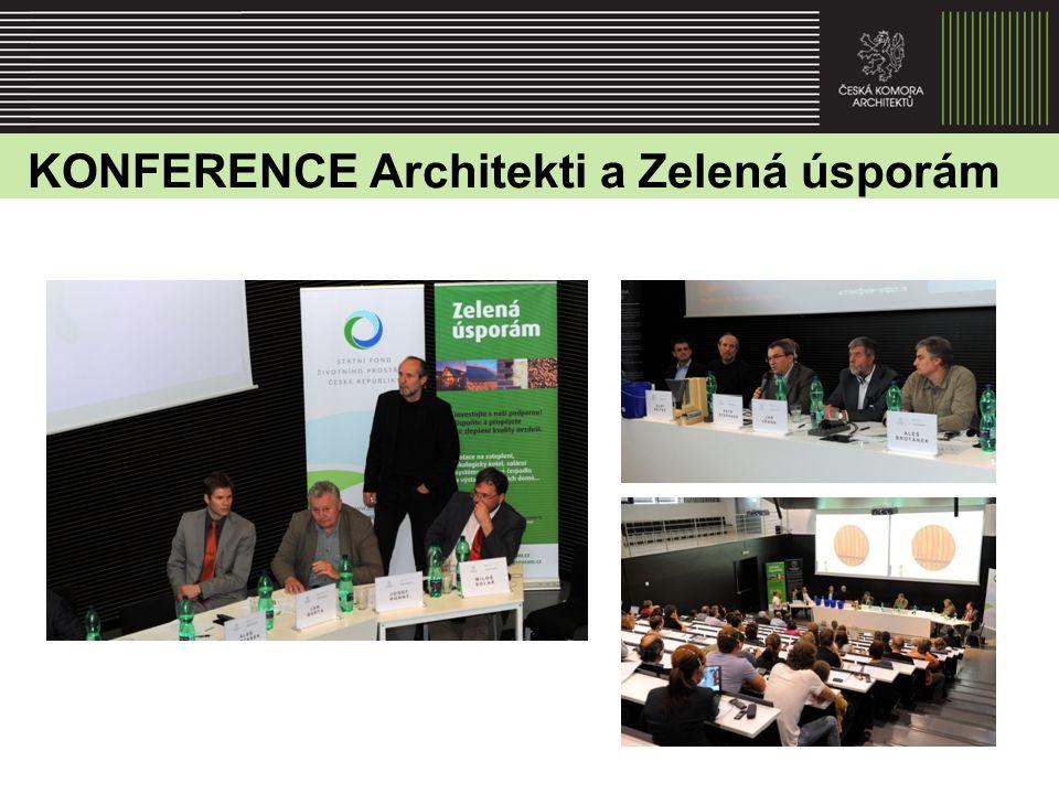 KONFERENCE Architekti a Zelená úsporám