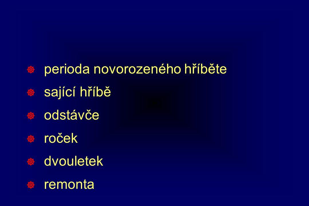 Možné následky hypoxémie/ischémie