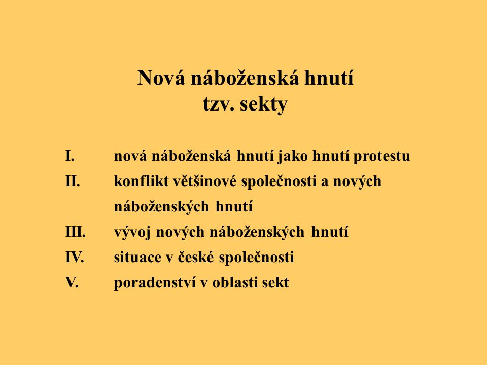 indické tradice hnutí hare Kršna II. situace v české společnosti