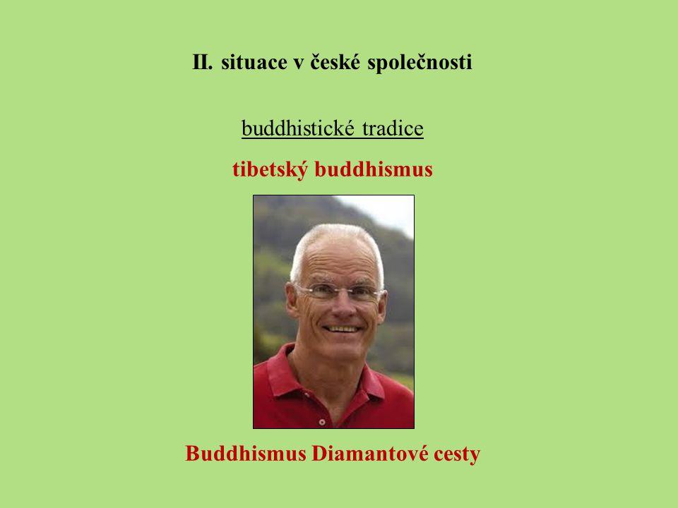 buddhistické tradice tibetský buddhismus Buddhismus Diamantové cesty II.
