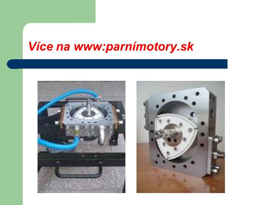 Parní motor s rotačním pístem