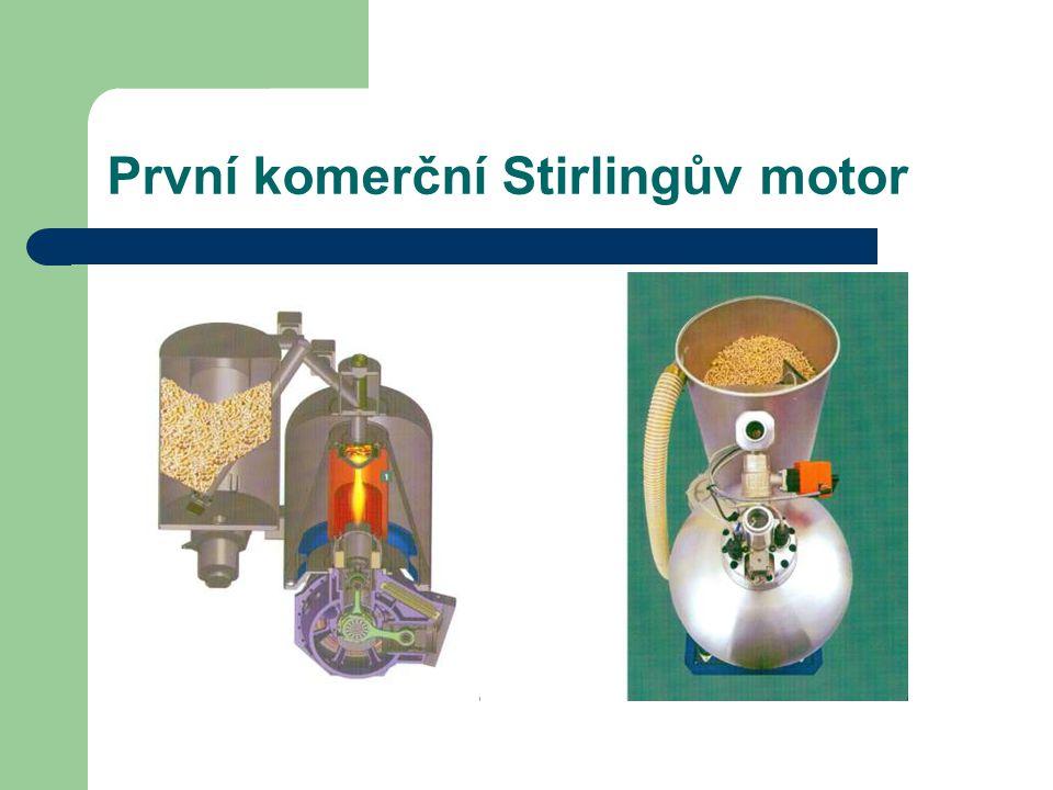 Stirlingův Motor s vnějším spalováním