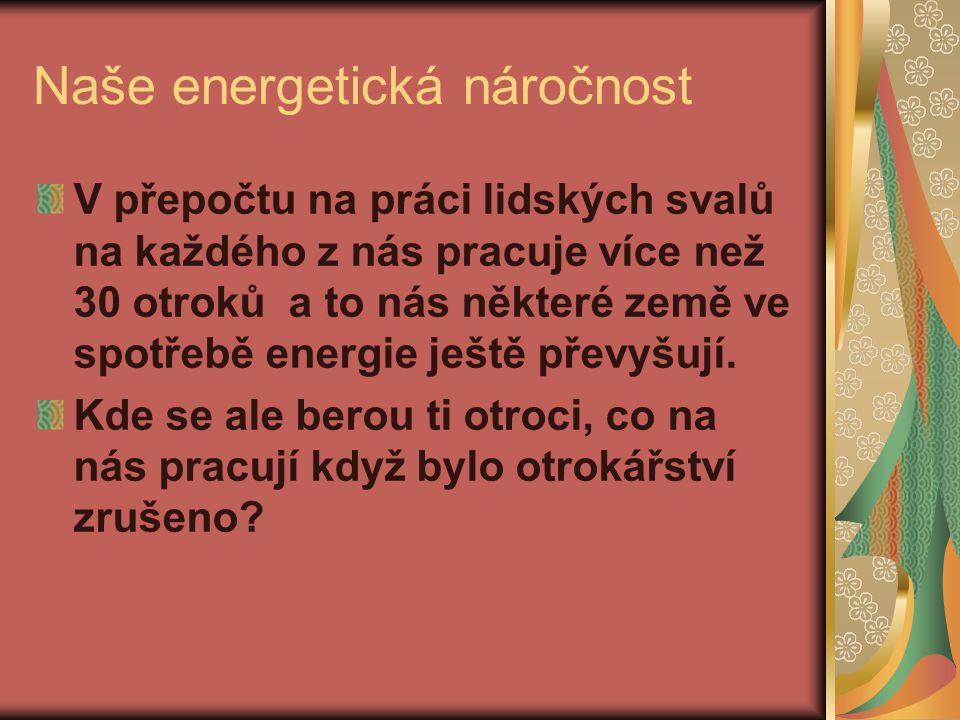 OZE nepokrývají ani rostoucí spotřebu elektrické energie… Ospalé spotřebiče cca 400 MW V Rakousku je to celých 800 MW Co teprve když je někdo zapne