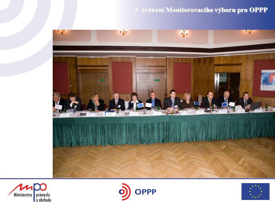 8. jednání Monitorovacího výboru pro OPPP
