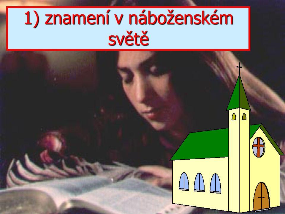 """A když seděl na Olivové hoře a byli sami, přistoupili k němu učedníci a řekli: """"Pověz nám, nám, kdy to nastane a jaké bude znamení tvého příchodu a sk"""