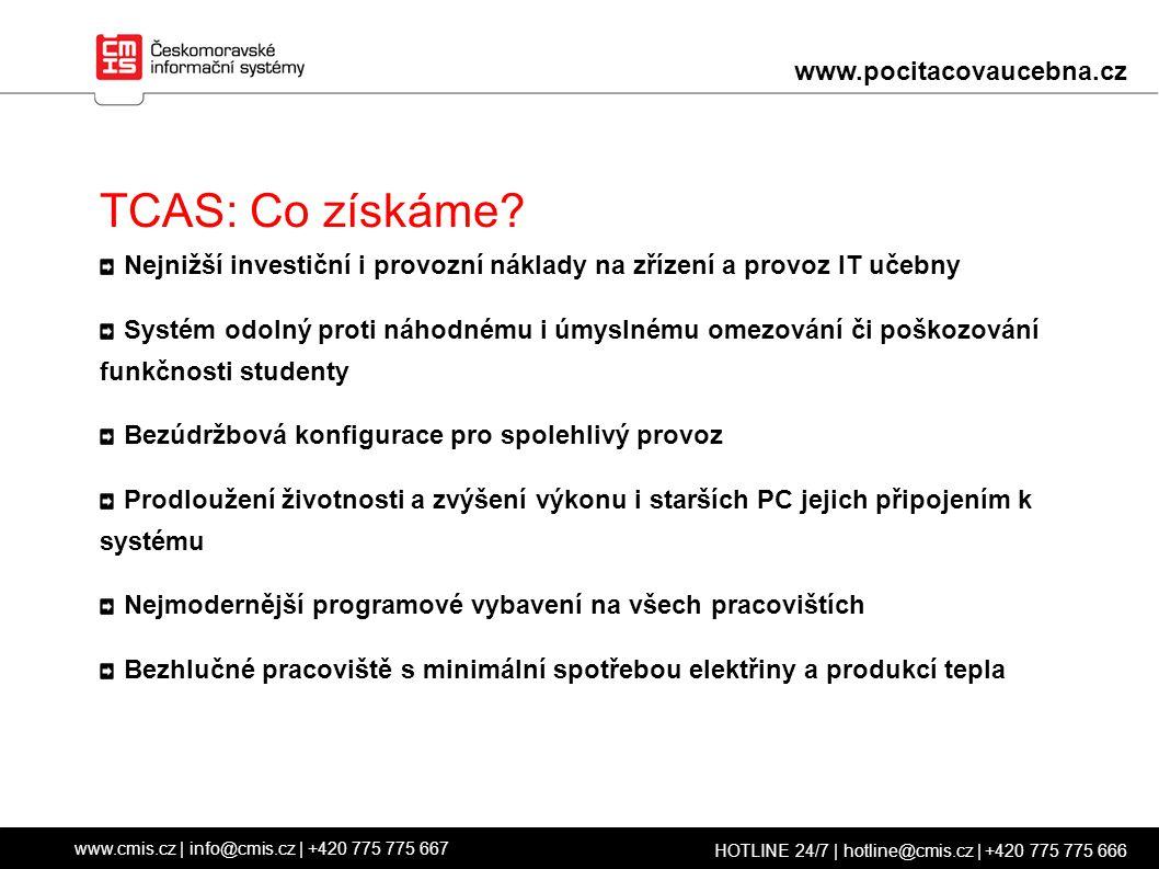 TCAS: Co získáme.