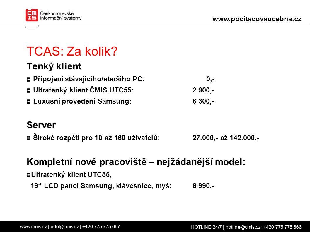 TCAS: Za kolik.