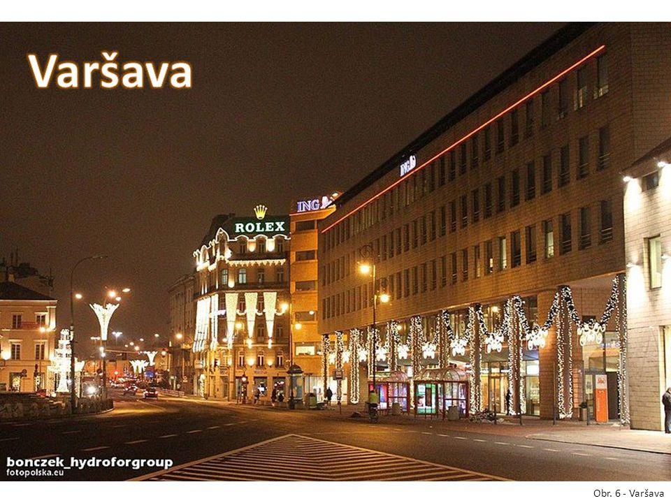 Obr. 6 - Varšava