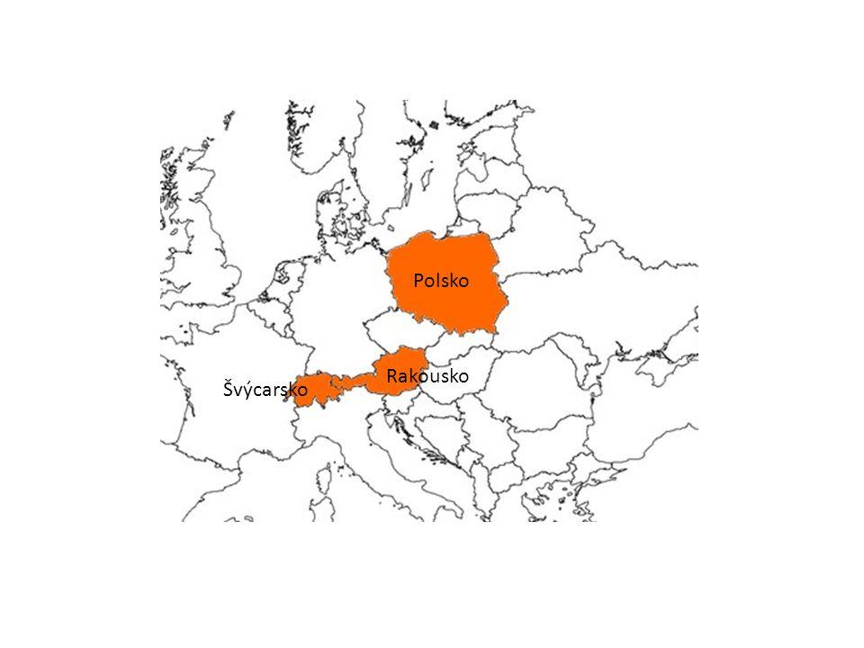 Švýcarsko Rakousko Polsko