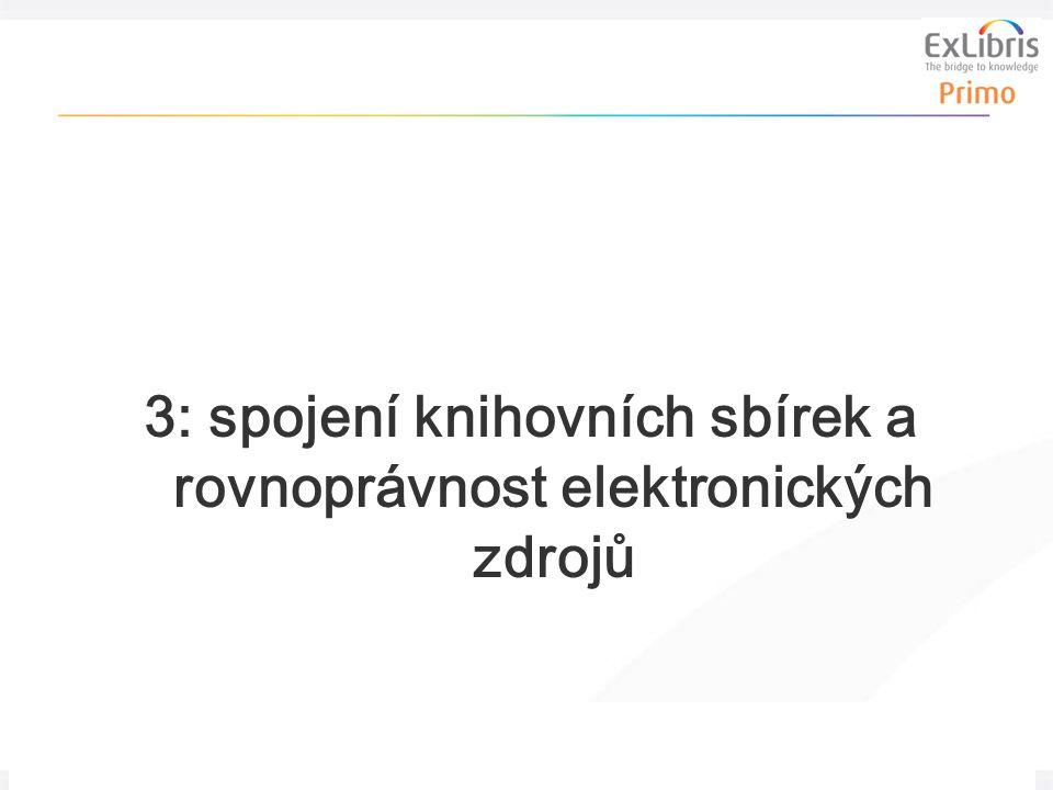 18 Nová generace vyhledávání a dodávání informací, 24. února 2011, Košice 3: spojení knihovních sbírek a rovnoprávnost elektronických zdrojů