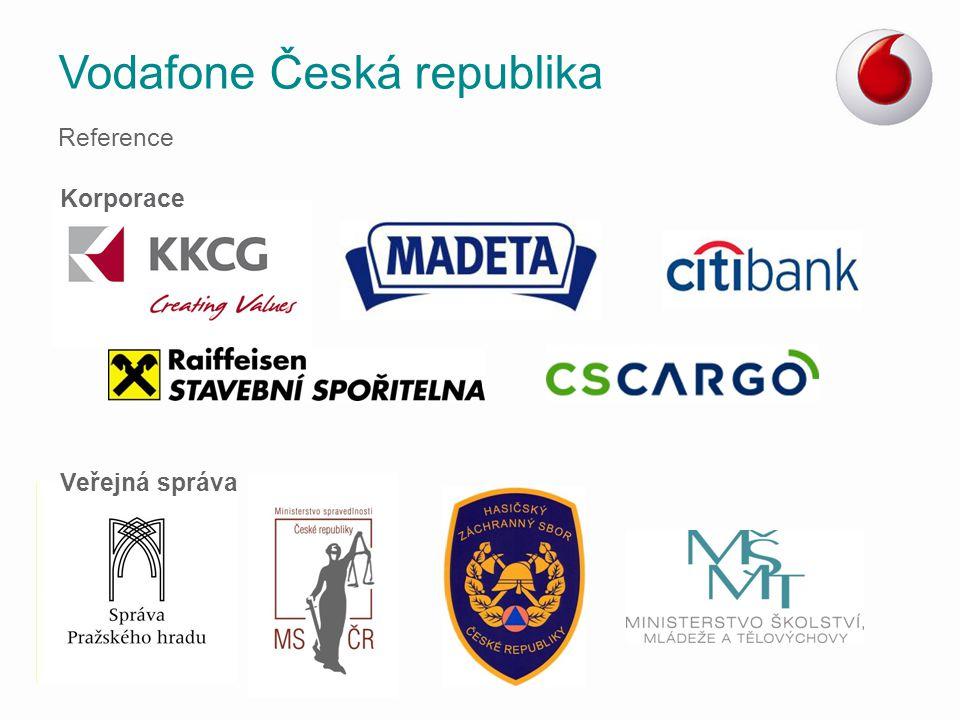 Vodafone Česká republika Reference Korporace Veřejná správa