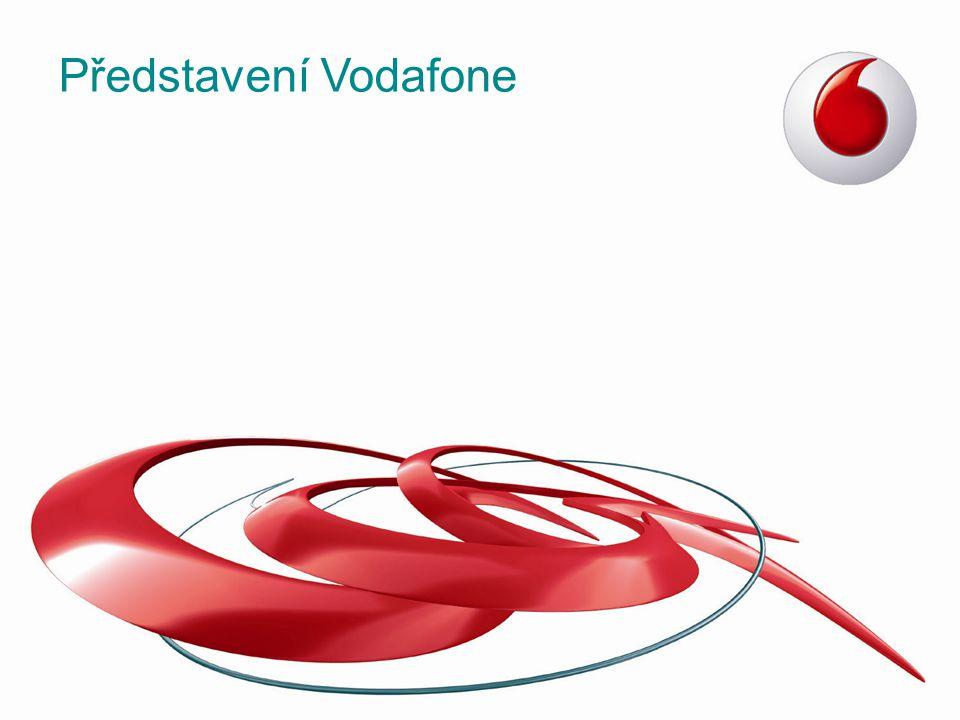 1983 - Vodafone získal britskou mobilní licenci –Největším mezinárodním mobilním operátorem na světě (407 milionů zák.) Vodafone ve světě Vodafone Group roční tržby €46 miliard Vodafone Group roční tržby €46 miliard 407 milionů zákazníků 27 zemí s přímou působností 45 partnerských sítí 27 zemí s přímou působností 45 partnerských sítí 389 smluvních roamingových partnerů Benefity pro Vás –Jednotné služby pro celou nadnárodní skupinu (VGE) –Nejkvalitnější roamingové služby za nejvýhodnější ceny Hlasové služby - 389 partnerů ve 181 zemích Datové služby - 313 partnerů ve 160 zemích Třetí největší obchod historie (130 miliard USD)