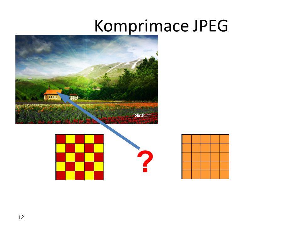 Komprimace JPEG 12