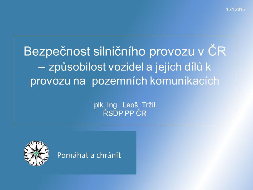 Policie ČR za 11 měsíců letošního roku šetřila celkem 73 975 nehod, při kterých bylo 636 osob usmrceno, 2 786 osob těžce zraněno a 20 932 osob zraněno lehce.
