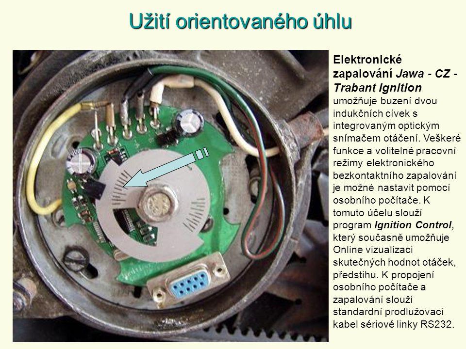 Elektronické zapalování Jawa - CZ - Trabant Ignition umožňuje buzení dvou indukčních cívek s integrovaným optickým snímačem otáčení.