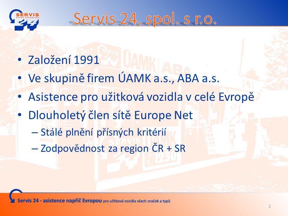 Servis 24, spol. s r.o. – partner akce: Truck Business Day 2010 13.5.2010, Brno Ing.