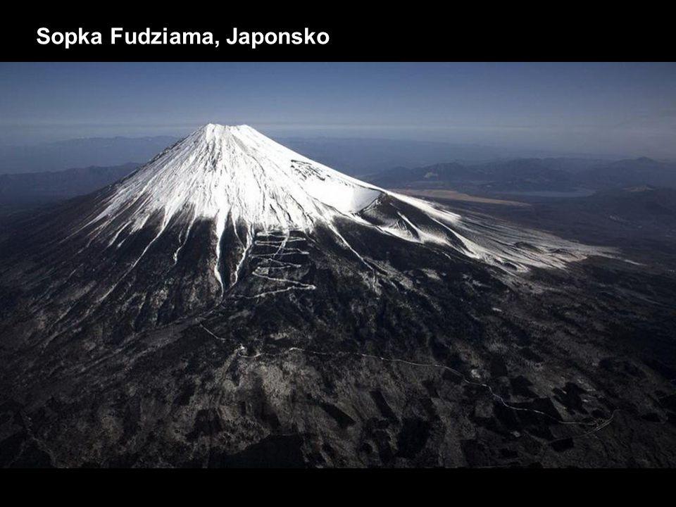 Sopka Fudziama, Japonsko