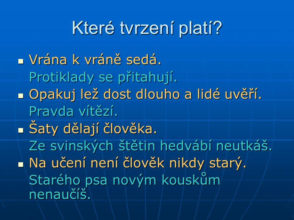 Výběr ze základní literatury Výrost, J.– Slaměník,I.