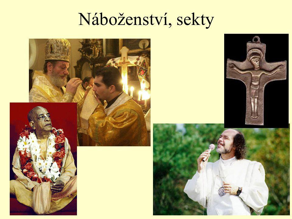 Náboženství, sekty