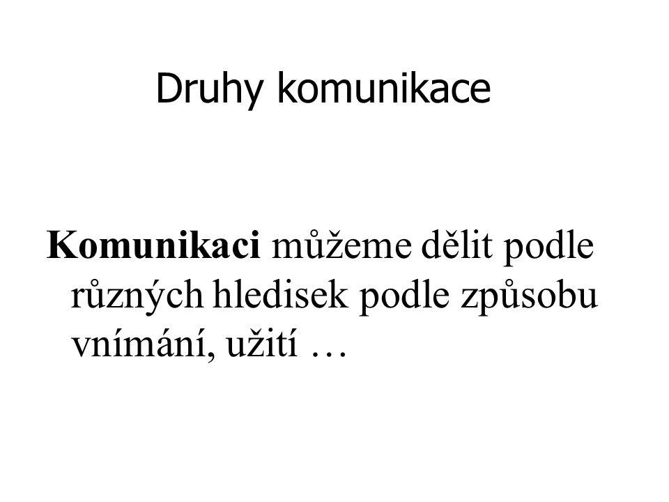 NEVERBÁLNÍ KOMUNIKACE 2.