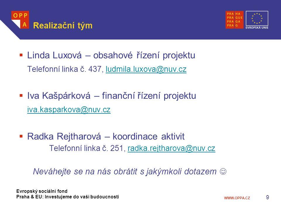 DĚKUJI ZA VÁŠ ČAS I POZORNOST Evropský sociální fond Praha & EU: Investujeme do vaší budoucnosti