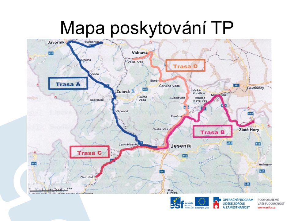 Mapa poskytování TP