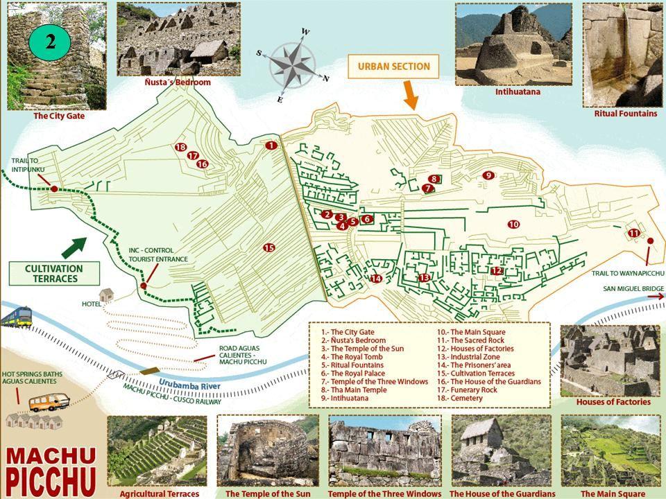 Ruiny objevil náhodou 24. července 1911 americký archeolog Hiram Bingham. A tudy jezdí autobusy s turisty