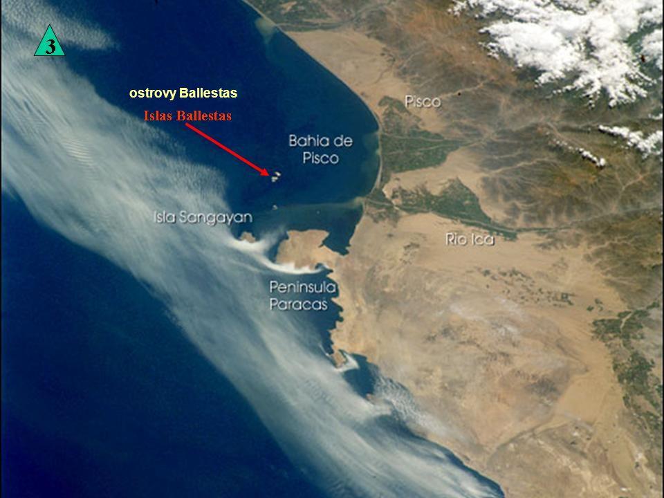 Národní rezervace Paracas a ostrovy Ballestas