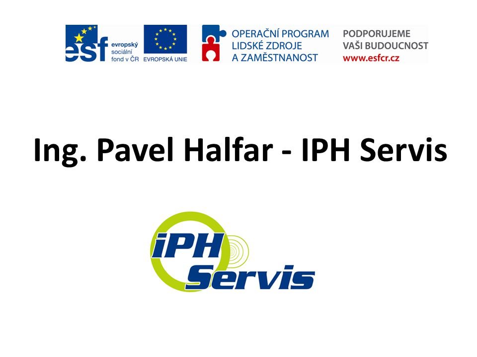 Ing. Pavel Halfar - IPH Servis