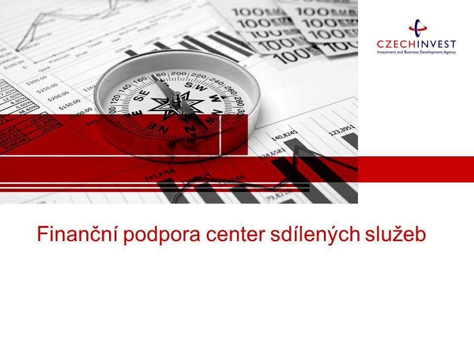Finanční podpora center sdílených služeb