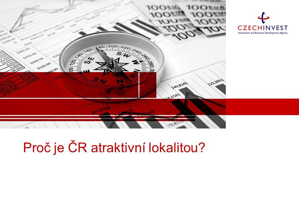 Proč je ČR atraktivní lokalitou
