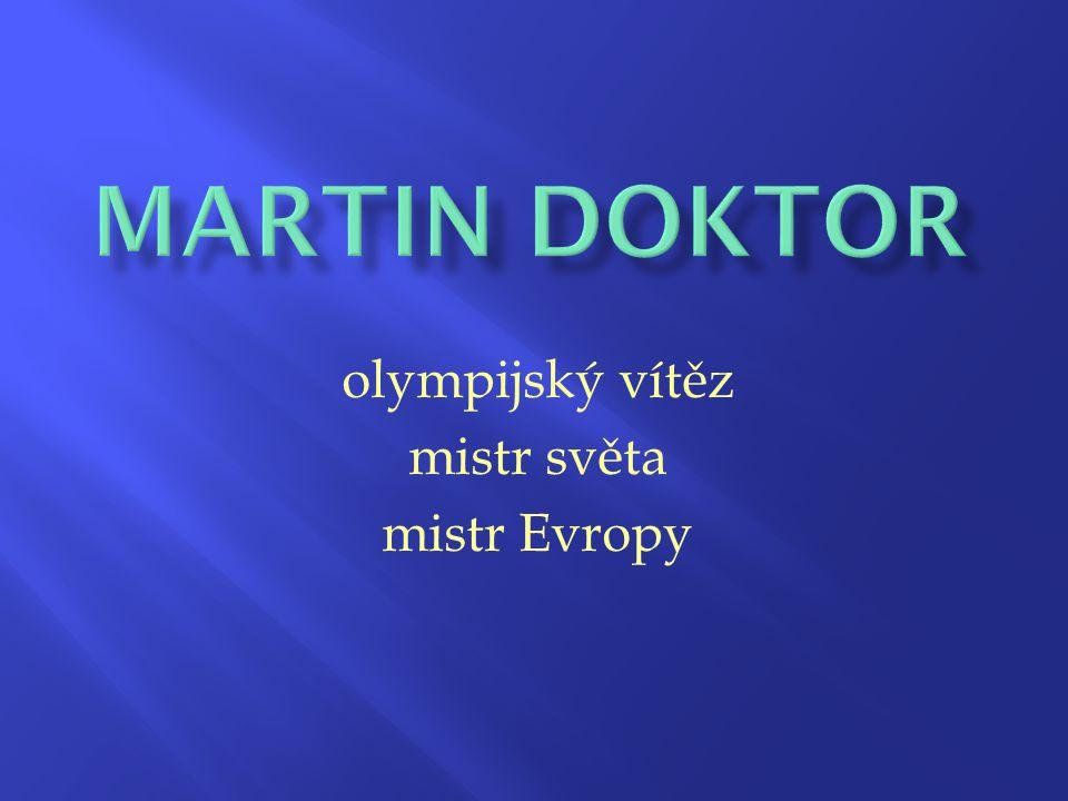 olympijský vítěz mistr světa mistr Evropy