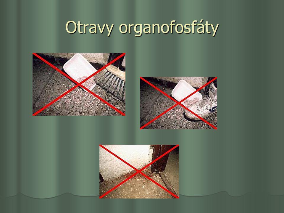 Otravy organofosfáty