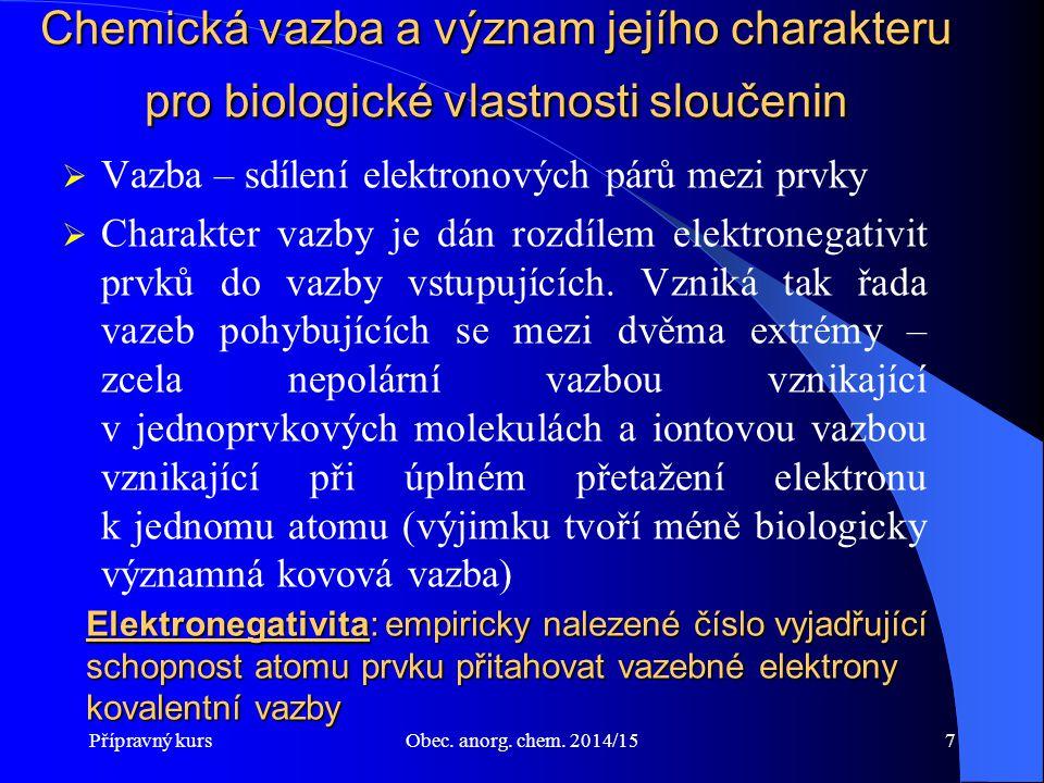 Přípravný kursObec.anorg. chem. 2014/1568 Cr - chrom Je esenciální prvek (i u člověka).