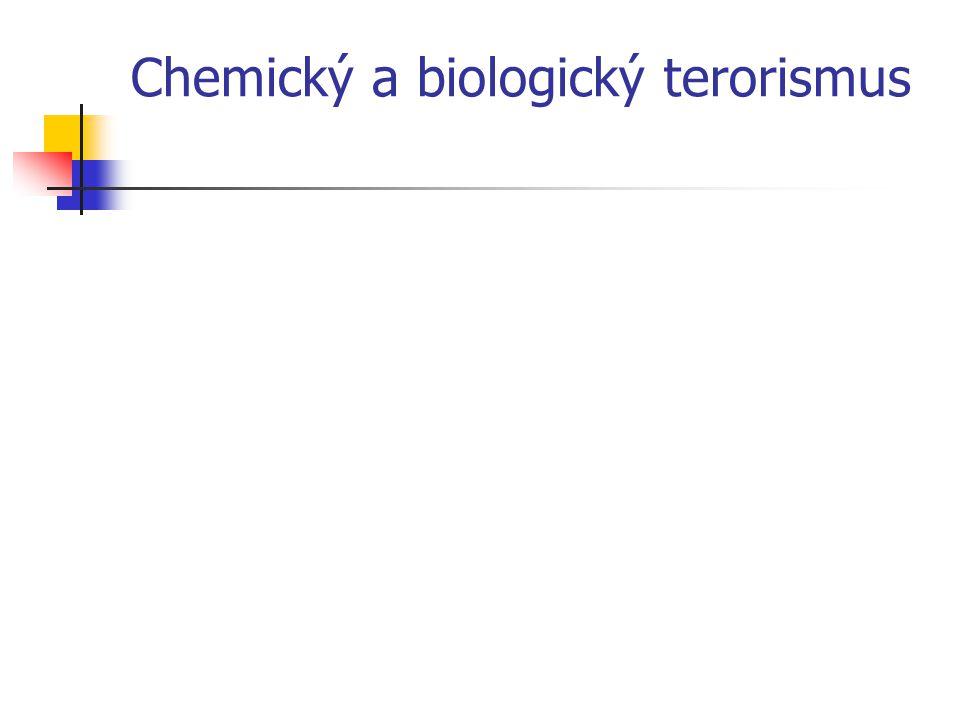 Chemický a biologický terorismus